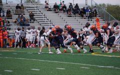 Huskie football ends season with dramatic home win