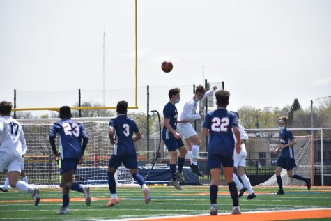 Boys soccer ends season with a 1-1 tie