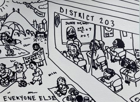 Cartoon: A late summer