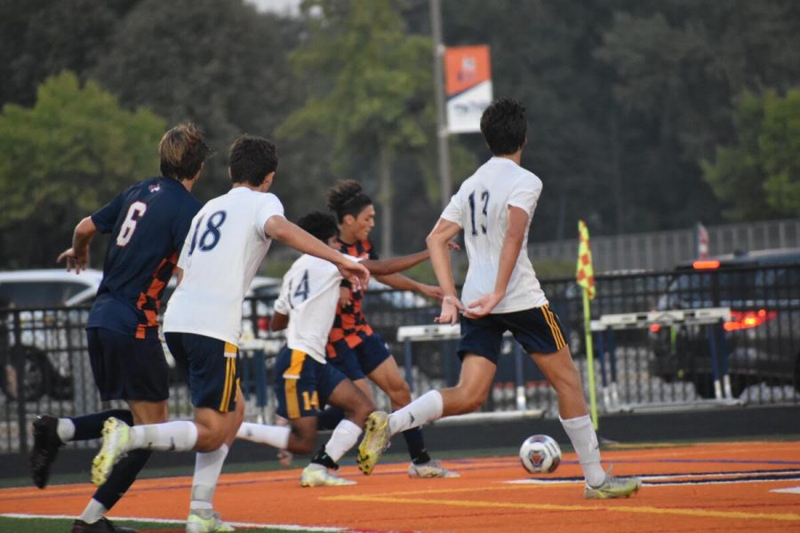 Huskie boys soccer wins conference matchup against Neuqua Valley